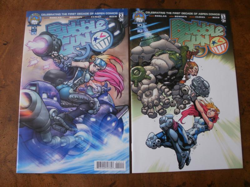 Bubble Gun #2 #3 (Aspen Comics) 2013