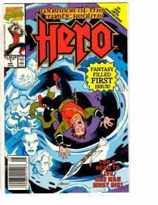 Lot Of 3 Warrior Of The Mystic Realms Hero Marvel Comic Books # 1 2 3 HJ6