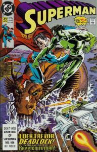 Superman (2nd Series) #43 VF/NM; DC | save on shipping - details inside