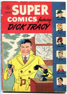 Super Comics #105 1947- Dick Tracy- Little Orphan Annie- Dell VG