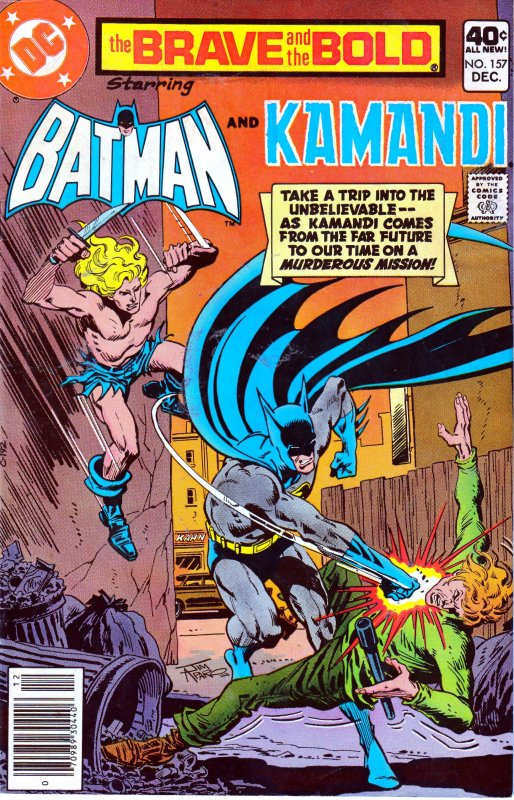 Brave and The Bold # # 151, 157, 162,165 167,176 FLASH ! SWAMP THING ! KAMANDI !