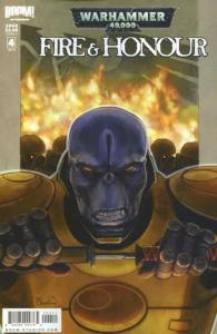 Warhammer 40,000: Fire & Honour #4A VF/NM; Boom! | save on shipping - details in