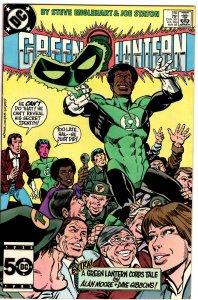 Green Lantern #188 (1960 v2) Alan Moore Story NM