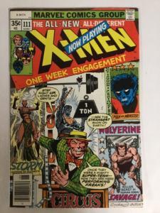 Uncanny X-Men 111 7.0 FN/VF Fine / Very Fine