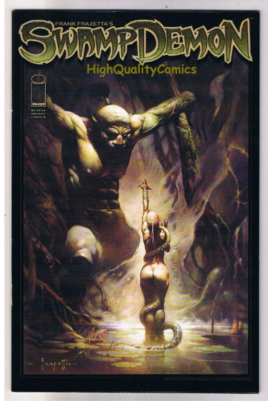 Frank Frazetta SWAMP DEMON #1, NM-, Josh Medors, 2008, more FF in store