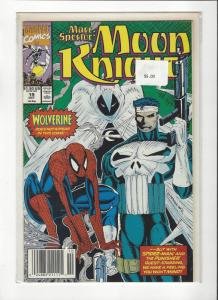 Marc Spector: Moon Knight #19 Spider-Man Punisher NM