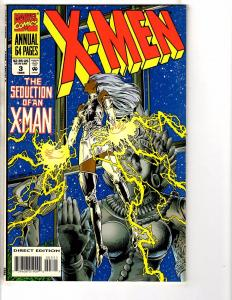 Lot Of 7 X-Men Marvel Comic Books # 1 2 (2) 3 95' 96' 97' Wolverine Gambit J203
