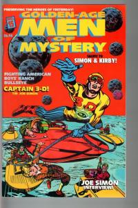 GOLDEN-AGE MEN OF MYSTERY #15-SIMON AND KIRBY ISSUE-COMIC/FANZINE VF/NM