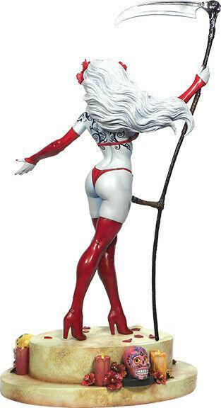 Lady Death La Muerta Statue by Clayburn Moore Limited Edition #152/1000 MIB