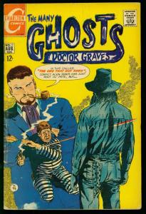 THE MANY GHOSTS OF DOCTOR GRAVES #15 1969-CHARLTON COMICS-DITKO ART- G