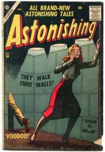 Astonishing #56 1956- Atlas Horror- Maneely- Kirby G