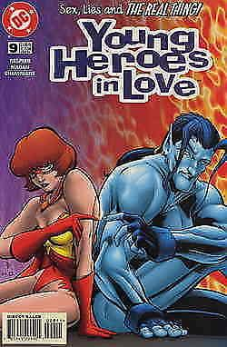 Young Heroes in Love #9 VF/NM; DC | save on shipping - details inside