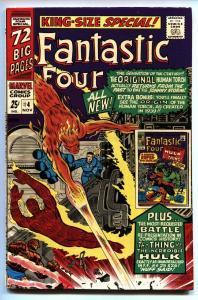 FANTASTIC FOUR ANNUAL #4 HULK VS. THING - 1966-Human Torch
