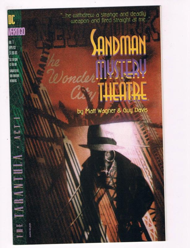 Sandman Mystery Theatre # 1 DC Comic Books Awesome Issue Modern Age WOW!!!!! S47