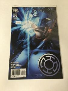 Green Lantern Corps 63 Variant Nm Near Mint DC Comics