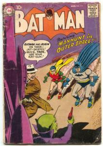 Batman #117 1958-Rocket cover- DC Silver Age G