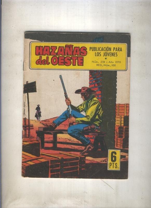 Hazañas del Oeste numero 218: Un sheriff de verdad (Pizarro)