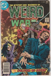 Weird War Tales #54