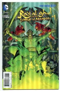 Batman And Robin-#23.3-Ra's al ghul-League of Assassins-#1-3-D Variant-2nd Print