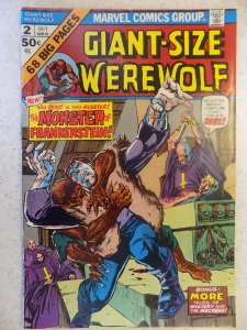 GIANT-SIZE WEREWOLF # 2 MARVEL BRONZE HORROR
