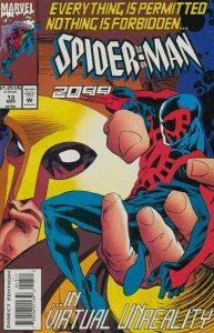 Spider-Man 2099 #13 VF; Marvel   save on shipping - details inside