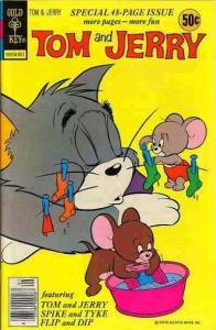 Tom & Jerry Comics #302 FN; Dell | save on shipping - details inside