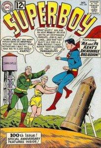 Superboy (1949 series) #100, Poor (Stock photo)