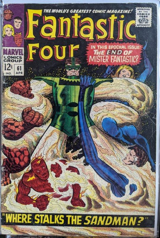 Fantastic Four #61 (1967) F
