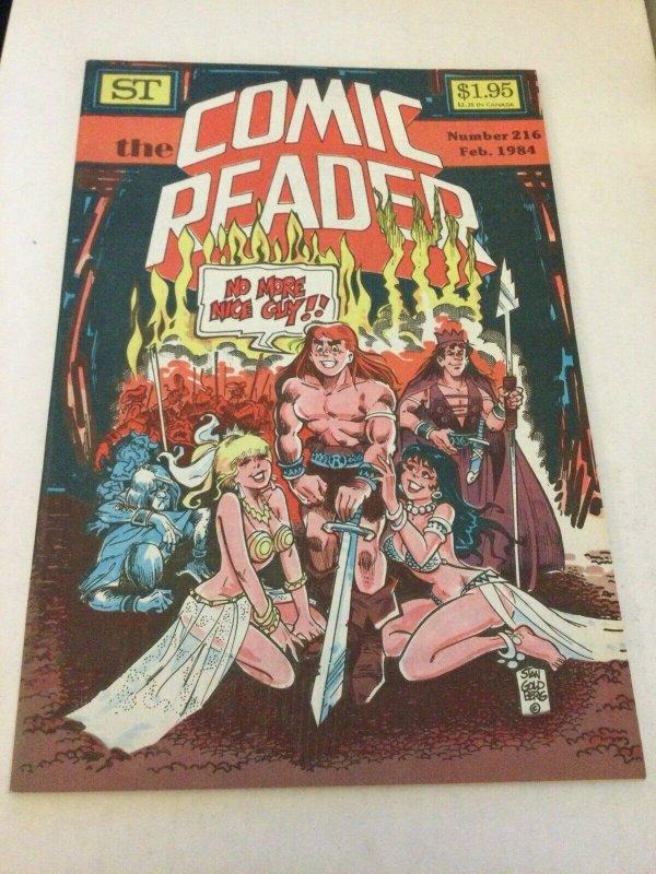 Comic Reader 216 Vf Very Fine 8.0 ST Fanzine