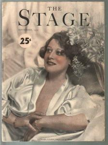 Stage 9/1932-Theatre Guild-Lenore Ulric-Marx Brothers-Harold Lloyd-VG