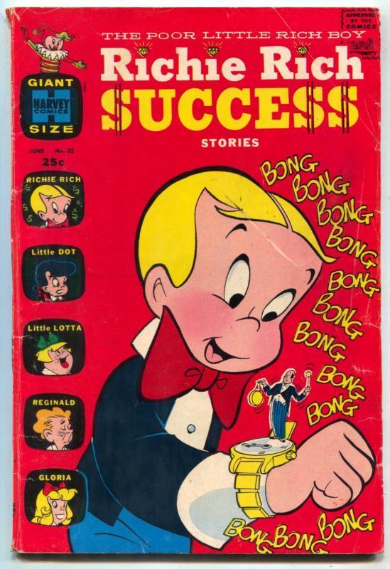 Richie Rich Success Stories #32 1970- Little Dot- Giant VG