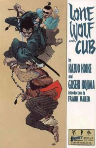 Lone Wolf and Cub #9 FN; First | save on shipping - details inside