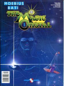 The MAGIC CRYSTAL gn, VF+, Moebuis, Bati, Comcat, 1989, 1st, more GN in store