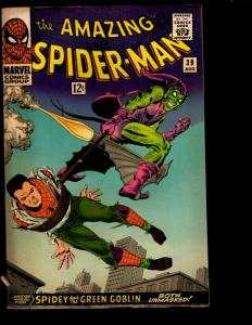 Amazing Spider-Man # 39 VF Marvel Comic Book Goblin Gwen Stacy Aunt May NE3