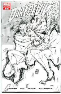 DAREDEVIL #89, NM, Variant, Sketch, Ed Brubaker, 2006, more in store