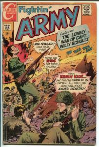 FIGHTIN' ARMY #89 1970-CHARLTON-STEVE DITKO ART-vg