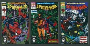 Spiderman #8 #9 #10 (Todd McFarlane SET )  9.6 NM+ or Better 1991