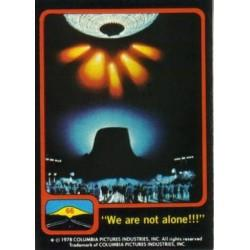 1978 Topps Close Encounters Of The Third Kind WE ARE NOT ALONE #66