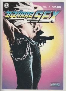 Bizarre Sex #7 (Nov-83) NM- High-Grade