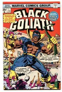 BLACK GOLIATH #1-1976-TUSKA ART-1st ISSUE HIGH GRADE