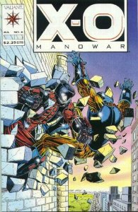 X-O Manowar (1992 series) #6, NM- (Stock photo)