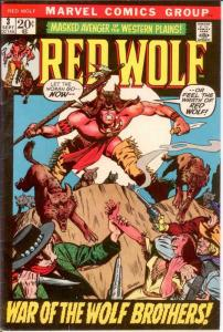 RED WOLF 3 VG-F Sept. 1972 COMICS BOOK