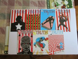 Truth Red White & Black #1-7 NM- Key 1st Isaiah Bradley Black Captain America