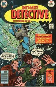 Detective Comics (1937 series) #465, VF- (Stock photo)
