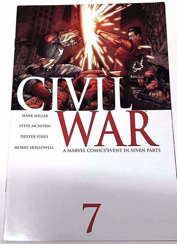 CIVIL WAR#7 VF/NM 2006 MARVEL COMICS