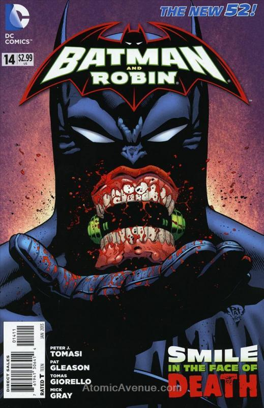 Batman and Robin (2nd Series) #14 VF/NM; DC | save on shipping - details inside