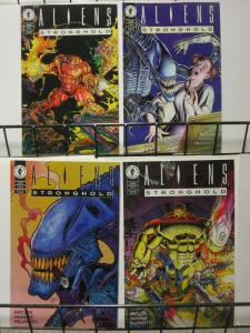 ALIENS STRONGHOLD (1994 DH) 1-4 complete mini