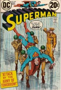Superman (1939 series) #265, Fine- (Stock photo)