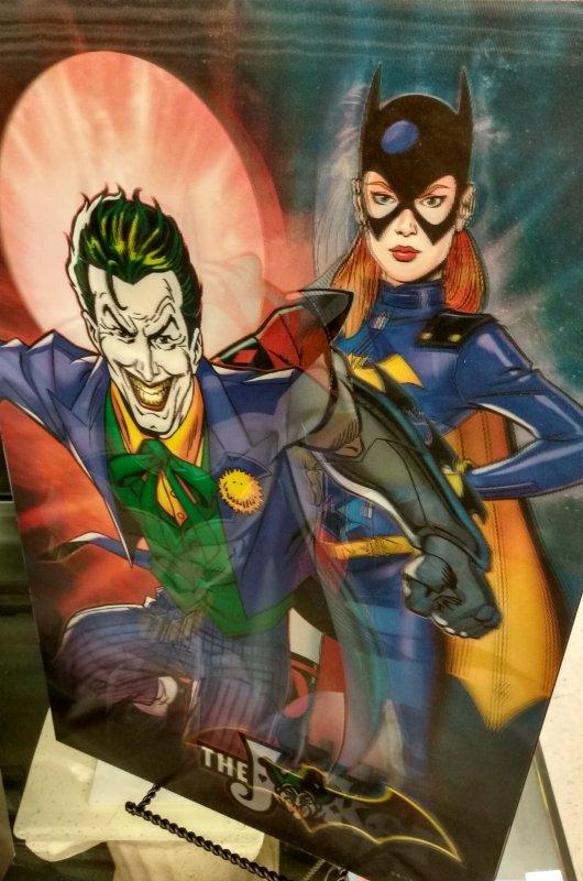 3D holographic changing Batman DC Comic wall art.