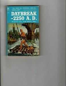 3 Books Daybreak -2250 A.D. Red Harvest She Ate Her Cake Mystery Thriller JK34
